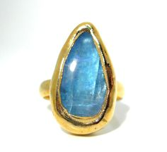 SALE+Moonstone+ring++Golddipped+++Natural+by+jennleedesign+on+Etsy,+$48.30