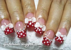 I'd rather have the bows only on the ring fingers but still pretty and nicely done.