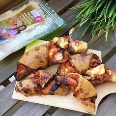 Szafi Reform pizzás croissant recept (paleo) Paleo pizzás croissant recept (tejmentes, gluténmentes, élesztőmentes, szójamentes) A tojásmentes változatát a recept végén találjátok!!! Egy nagyon különleges pizzás croissant receptet hoztam ma nektek. Ugyanis a gluténmentesség, te Pizza Croissant, Tandoori Chicken, Paleo, Meat, Ethnic Recipes, Food, Pizza, Essen, Beach Wrap