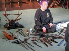 Hatsumi's Weapons
