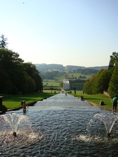 Chatsworth House & Gardens, Derbyshire, Central England