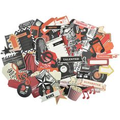 On Stage Collectables Cardstock Die-Cuts - KaiserCraft