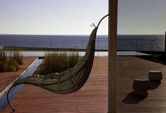 Hervorragend #Möbel Der Designer Hängesessel Satala Aus Metall Balanciert Auf Einem Fuß  #Der #