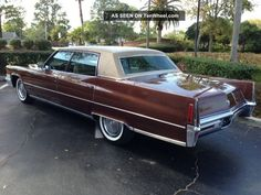 1970 Cadillac Fleetwood Brougham Cadillac Ct6, Cadillac Eldorado, Luxury Yachts, Luxury Cars, Car Paint Colors, Cadillac Fleetwood, Luxury Marketing, Automotive Design, Buick