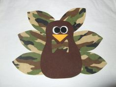 Boys camoflage turkey shirt