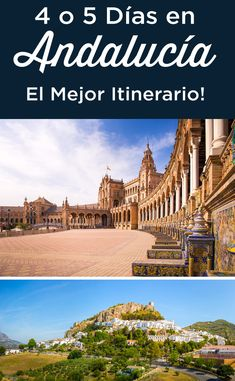 Days in Andalucia: The Ultimate Itinerary Cadiz, Granada, Backpacking Spain, European City Breaks, Andalucia Spain, Travel Around Europe, Reisen In Europa, Destination Voyage, Spain And Portugal