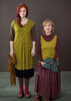"""""""Vippa"""" modal dress – Jersey knits – GUDRUN SJÖDÉN – Webshop, mail order and boutiques   Colourful clothes and home textiles in natural materials."""