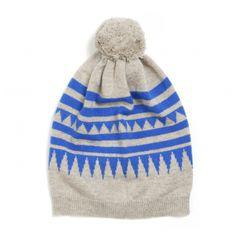 Chinti & Parker -Aztec Bobble Hat