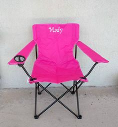 Easter Gift - Birthday Gift - Monogrammed Adult Folding Chair - Teen Camping Chair - Larger Sports Chair - Personalized Outdoor Chair by MonkaDunkCreations on Etsy https://www.etsy.com/listing/482636538/easter-gift-birthday-gift-monogrammed