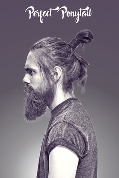 The Short Mohawk is a styling option for professional men with scanty hair growth that wish to enjoy a wonderful hairstyle! Mens Ponytail Hairstyles, Ponytail Haircut, Hairstyle Images, Cool Hairstyles For Men, Men's Hairstyles, Haircuts For Men, Latest Mens Fashion, Men's Fashion, Short Mohawk