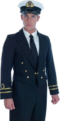 Dress Blue Navy Male Costume Fancy Dress Costume Mens (Army)
