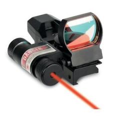 ﹩71.00. New Sightmark Laser Dual Shot Reflex Sight with Laser SM130027  Type - Dot, Reticle Color - Red,
