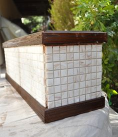 side of window box planter