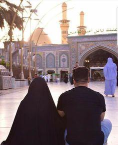 Cute Love Couple, Cute Couple Pictures, Best Couple, Hussain Karbala, Imam Hussain, Cute Muslim Couples, Cute Couples Goals, Muslim Couple Photography, Karbala Photography