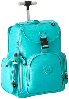 Kipling Alcatraz PRT, Breezy Turquoise, One Size Kipling Rolling Backpack, Kipling Bags, Fairy Princesses, Season Colors, Travel Bag, To My Daughter, My Girl, Suitcase, Backpacks