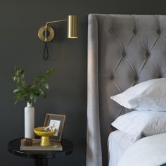 Bedroom Wall Sconces For Reading reading light sconces over bed | bedroom ideas | pinterest
