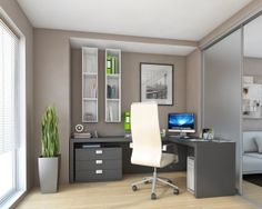 home office solutions at paolo marchetti interiors in London - http://www.paolomarchetti.com/other-rooms/home-offices#.Ulu9kODgna4. The addition of casetur mechanism can turn this home office corner solution into a multi functional corner and make space saving possible. www.casetur.com