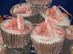 Ballet-Shoe Cupcakes