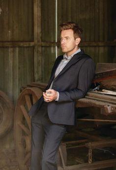 William in a suit