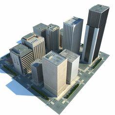 Minecraft Modern City, Minecraft City Buildings, Minecraft Architecture, City Architecture, Minecraft Blueprints, Minecraft Projects, Minecraft Creations, City Layout, Classic Building