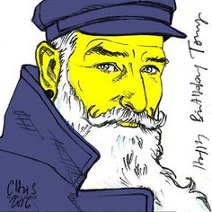 MERRY CHRISTMAS EVERYONE ;-)  And if Santa Claus where the handsome Toni El Garretilla ?????  Happy Birthday Toni ;-)  #manface #expression #drawing #digitalart #postitart #postitportrait #postitportraitsbychristophelardot #artwork #art #arte #illustration #yellow #yellowfaces #mariner #santaclaus #christmasgift #merrychristmas #whitebeard #beard #bearded #beardgang #beardedmen #beardvillain #caban #fashionillustration #ilustracion #illustrationoftheday #pencildrawing #manstyle #santaclaud
