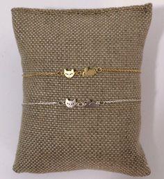 Joli bracelet fin Chat et souris... craquant non ?! Bijou sympa et original.