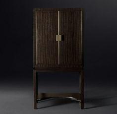 All Bar Carts & Cabinets Console Table, Back Bar Design, Custom Made Furniture, Modern Bar, Cabinet Making, Vintage Bar, Metal Trim, Wood Patterns, Cabinet Furniture