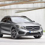 Mercedes Teases the GLA - First Official Pictures Leaked.