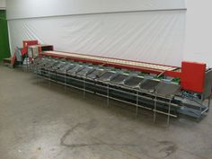 Aweta machine with 3 lanes / 12 drops, All drops a weight scale, incl. dump and elevator