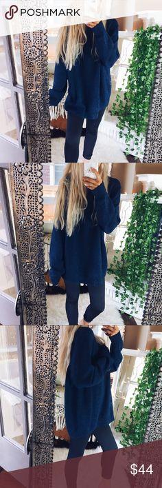 Amelia Jade Chunky Oversized Sweater Cozy and so soft! Oversized fit Sweaters Crew & Scoop Necks