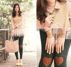 Let's have a heart to heart (by Mayo Wo) http://lookbook.nu/look/3153319-let-s-have-a-heart-to-heart