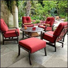 Outdoor patio furniture ideas, option, DIY, sets, lounge areas, fabric, small, modern, dining, wrought iron, farmhouse, sectional, table, cheap, wood, on a budget, layout, fire pits, wicker, chairs, pool and restoration hardware