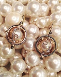 Style Classique, High Jewelry, Baroque, Yves Saint Laurent, Designers, Pearl Earrings, Product Launch, Pearls, Top