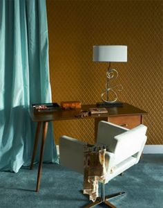 50's interieur - home office