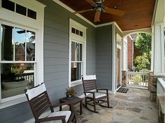 Nothing beats a front porch on a sunny day! #porches #dreamhome