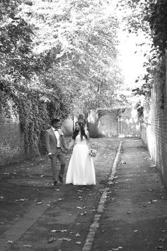 October wedding - Documentary Alternative London Wedding photographer