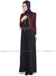 Crowbar Patterned Dress - Red - MODAYSA