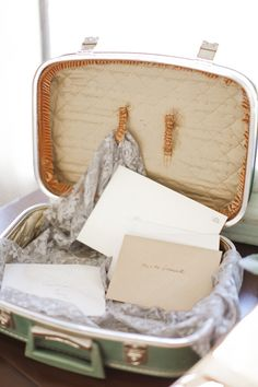 luckily i only have a million vintage suitcases. vintage suitcase for wedding cards Wedding Music, Wedding Pins, Wedding Details, Wedding Cards, Diy Wedding, Wedding Events, Dream Wedding, Wedding Reception, Wedding Ideas