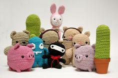 Family love ♥ #amigurumi #crochet