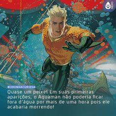 #CoxinhaCuriosa Ainda bem que mudaram isso!  #TimelineAcessivel #PraCegoVer  Imagem do Aquaman com a curiosidade: Quase um peixe! Em suas primeiras aparições o Aquaman não poderia ficar fora dágua por mais de uma hora pois ele acabaria morrendo!  TAGS: #coxinhanerd #nerd #geek #geekstuff #geekart #nerd #nerdquote #geekquote #curiosidadesnerds #curiosidadesgeeks #coxinhanerd #coxinhafilmes #filmes #movies #cinema #euamocinema #adorocinema #cinefilos #justiceleague #ligadajustica #dccomics…
