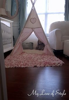 diy kids teepee step by step tutorial, entertainment rec rooms, how to, reupholster Diy Kids Teepee, Diy Teepee Tent, Teepee Tutorial, Easy Diys For Kids, Easy Fall Wreaths, Canvas Drop Cloths, Mesh Wreath Tutorial, Kids Furniture, Bedroom Furniture