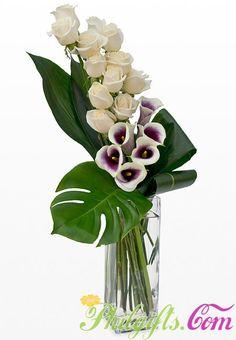 Flowers Arrangements Orchids Ikebana Ideas For 2019 Arrangements Ikebana, Modern Flower Arrangements, Floral Arrangement, Flower Centerpieces, Flower Vases, Flower Decorations, Tall Centerpiece, Deco Floral, Arte Floral