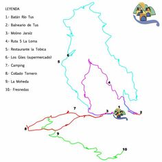 Mapa y entorno, Casas Rurales Batán Río Tus Maps, Day Spas, Natural Playgrounds, Country Cottages, Traveling, Activities