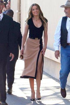 Amber Heard in Michael Kors
