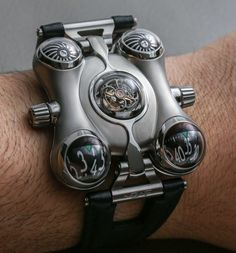 Wild watch makers MB&F have just announced their MB&F HM6