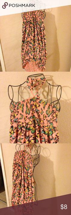 Girls hi-low halter summer dress size 16 nice look Super cute dress Mudd Dresses Casual