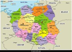 Map of Poland Tourist - http://travelin8.com/map-of-poland-tourist.html