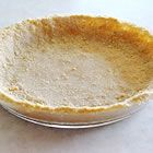 Graham Cracker Crust - MUCH cheaper to make your own, super easy, and tastes better than the pre-made kind! If necessary you can use GF graham cracker crumbs and it still tastes great. Better with cinnamon, but still dang good without it.