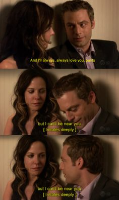 Nancy completely wrecked him, it got so dark at the end, poor Andy! [WEEDS]