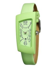 Take a look at this Mint Angles Watch by CRAYO on #zulily today! $34 !!